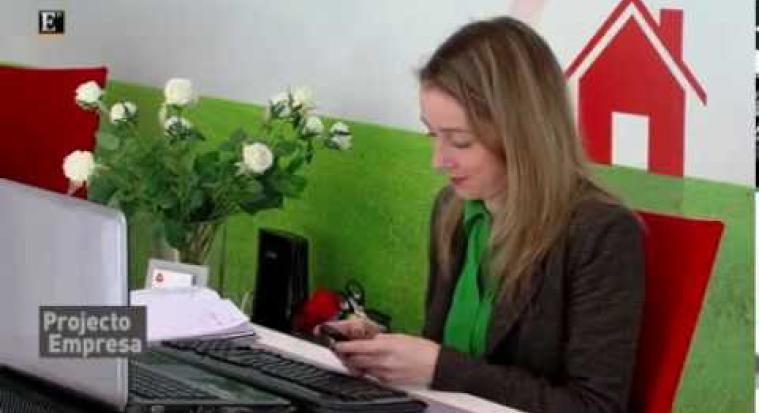 Arrenda na Hora no Projeto Empresa | Reportagem Económico TV