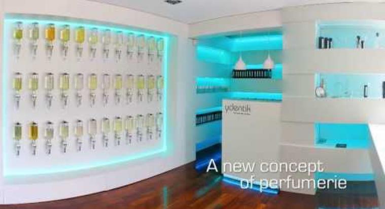 Ydentik - Perfume Bar Concept